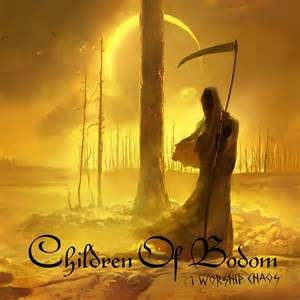 Children Of Bodom Worship Chaos cover