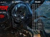 annihilator tour 2015